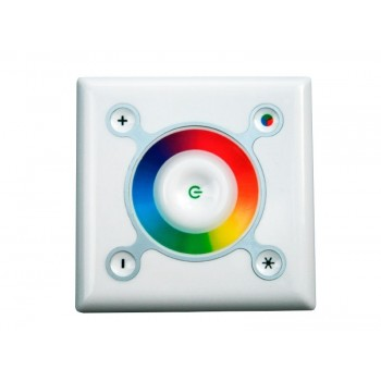 RGB touch контроллер 9A 108W 12V white (wall-in)