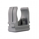 Крепеж для гофротрубы Ø 16 мм, Ø отв. 5 мм, цвет серый 100шт.