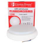 LED светильник для ЖКХ 12W 6500K 1020Lm IP54