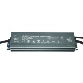 Блок питания импульсный PS Slim 200W 12V (IP67, 16,7А) Series