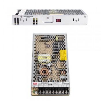 Блок питания импульсный Mean Well 200W 12V (IP20, 17A) Series