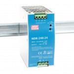 Блок питания импульсный Mean Well на DIN-рейку 240W 24V (IP20, 10A) Series