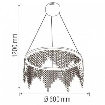 Светодиодная люстра ASTORIA-38 38W